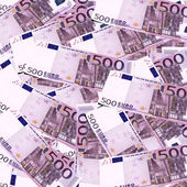 Euro Banknotes- 500 euros — Stock Photo