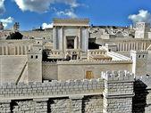 Second Temple. Ancient Jerusalem — Stock Photo