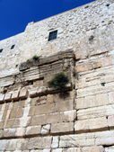 Walls of the Second Temple. Robinson Arch — Stock Photo