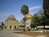 Temple mount. Dome of the Rock. Jerusalem — Stock Photo