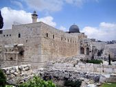 Al Aqsa Mosque in Jerusalem — Foto de Stock
