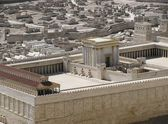 Ancient Jerusalem in the period of the second temple. — Stock Photo