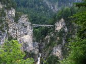 Bridge near Castle Hohenschwangau — Stock Photo