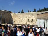 Jeruzalem wailing wall — Stockfoto