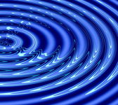 Abstract water ripples — Stock Photo