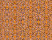 Orange   grunge vintage pattern wallpaper background — Stock Photo