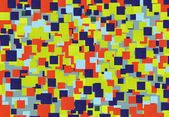 Bright mosaic   of colored squares application abstract vintage pattern background — Stockfoto