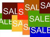 Försäljning — Stockfoto