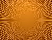Rays  in abstract orange gold   universe — Stockfoto