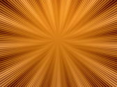 Rays  in abstract orange gold   universe — Foto de Stock