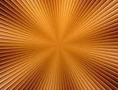 Rays  in abstract orange gold   universe — Zdjęcie stockowe