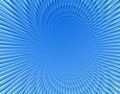 Rayos en universo azul naranja abstracto — Foto de Stock
