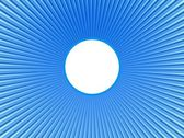 Rays  in abstract orange blue  universe — Foto Stock