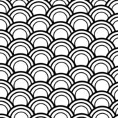 Seamless abstract  fish scale pattern — Stock Photo