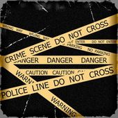 Police tapes — Stock Photo