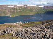 Landschap van ijsland — Stockfoto
