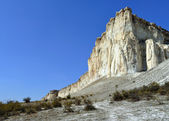 La roca blanca — Foto de Stock
