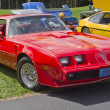 Постер, плакат: Red Pontiac Trans Am Firebird