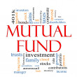 Mutual Fund Word Cloud Concept — Stock Photo #12497131