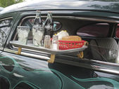 1949 Mercury Coupe Drive Thru tray — Stock Photo