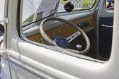 1940 Blue & White Ford Truck Interior — Stock Photo