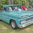 Stock Photo: Blue 1960 Chevy Apache truck