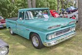 Blue 1960 Chevy Apache truck — Stock Photo