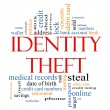 Identity Theft Word Cloud Concept — Stock Photo #12542888