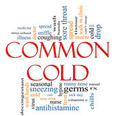 Common Cold Word Cloud Concept — Stock Photo