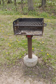BBQ Grill at Park — Stock Photo