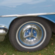 Stock Photo: 1955 Oldsmobile 88 Close up