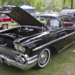 1958 Chevy Impala black car - Stock Photo