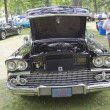 1958 Chevy Impala black car front — Stock Photo