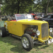 Stock Photo: 1932 yellow Ford Roadster