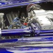 Постер, плакат: Purple & White 1965 Ford Shelby Cobra Engine