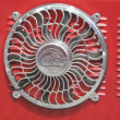 1966 Ford Econoline Truck Bed Fan — Stock Photo