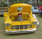 1955 chevy pickup 3100 čelní pohled — Stock fotografie