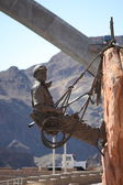Statue at Hoover Dam — Stock Photo