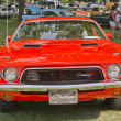 1972 Orange Dodge Challenger Front View — Stock Photo #12763584