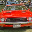 Постер, плакат: 1972 Orange Dodge Challenger Front View
