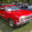 1967 Chevy Chevelle SS Red — Stock Photo