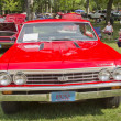 1967 Chevy Chevelle SS Red front view — Stock Photo