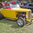 Stock Photo: 1938 Yellow Ford Roadster