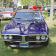 Постер, плакат: 1967 Purple Pontiac Firebird front view