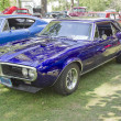 ������, ������: 1967 Purple Pontiac Firebird