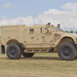 Humvee at EAA driving by — Stock fotografie