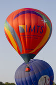 IMTS & Jordan Balloon cross paths — Stock Photo