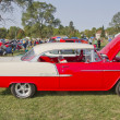 Постер, плакат: Red & White 1955 Chevy Bel Air