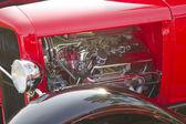 1930 Ford Street Rod engine — Stock Photo
