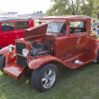 1930 Orange Chevy Coupe - Stock Photo